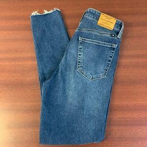 Lucky Brand High-Rise Bridgette Skinny Mom Jeans